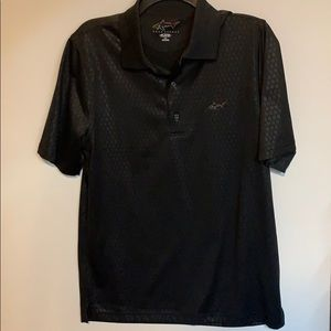 Greg Norman PlayDry Golf Shirt Size Small